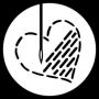 logo broderie Défil&Caurie